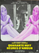 Vintage French Movie poster - Quarante huit heures d'amour
